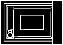 Chalet Blueprint Icon
