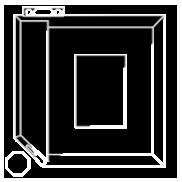 Cottage Blueprint Icon