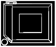 Villa Blueprint Icon